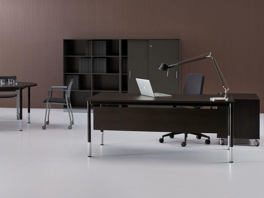 Rectangular executive desk G4 | Executive desk by BALMA