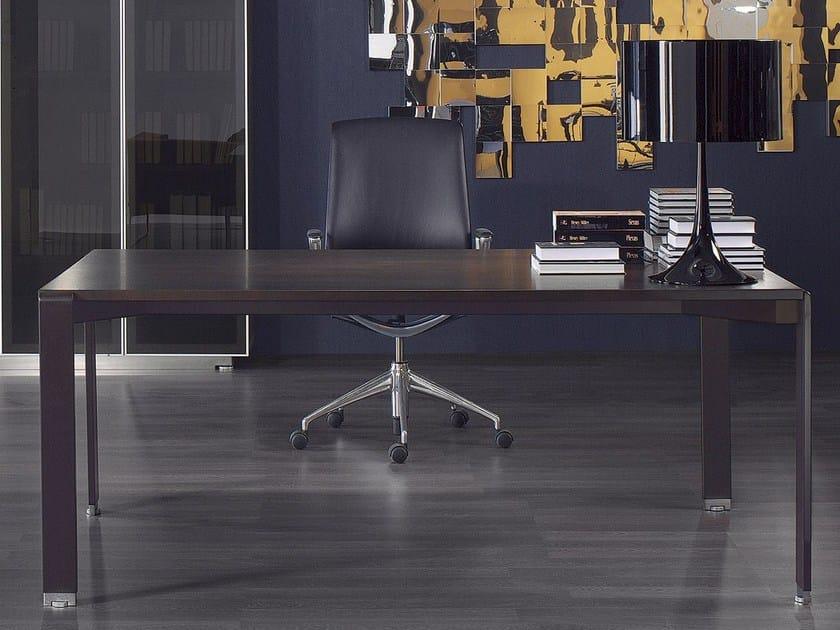 Rectangular executive desk MIXT | Executive desk by BALMA