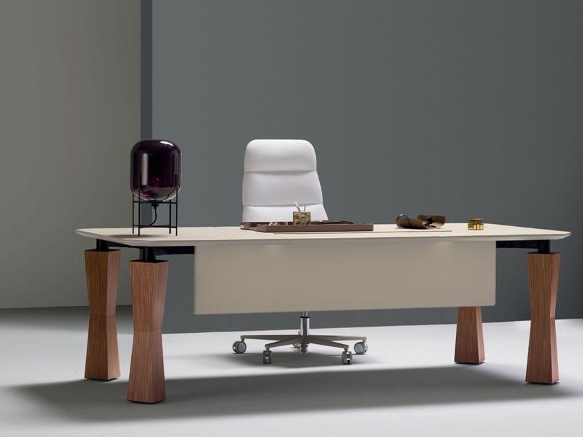 Rectangular executive desk FIRSTCLASS | Executive desk by Quinti Sedute