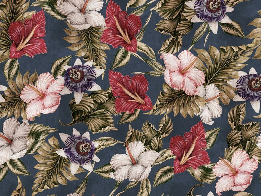 Ecological washable PVC free wallpaper EXOTICA by Wallpepper
