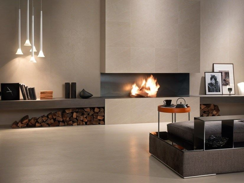 Laminated stoneware wall/floor tiles EXPERIENCE 0.3 by Panaria Ceramica