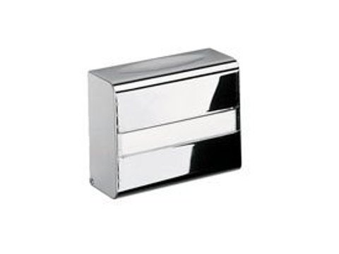 Metal hand towel dispenser A09250 | Hand towel dispenser by INDA®