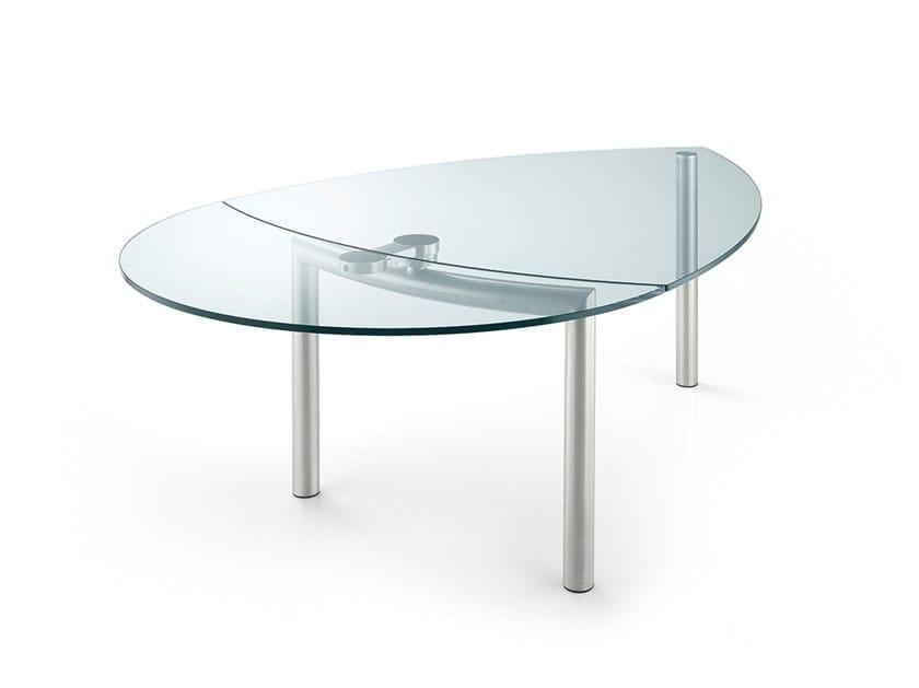 Tavoli In Cristallo Allungabili Reflex.Policleto Tavolo Collezione Policleto By Reflex Design Arnaldo Gamba