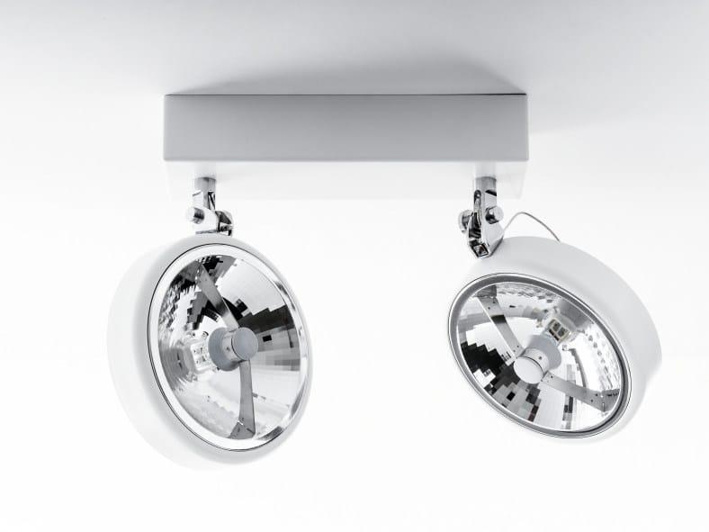 Multiple adjustable extruded aluminium spotlight EXTENSOR | Multiple spotlight by LUCIFERO'S