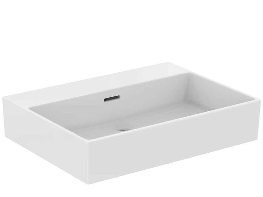Rectangular ceramic washbasin EXTRA - T388801 by Ideal Standard