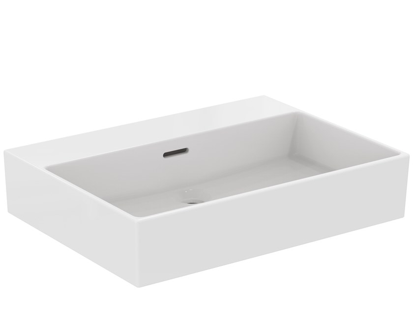 Rectangular ceramic washbasin EXTRA - T389101 by Ideal Standard