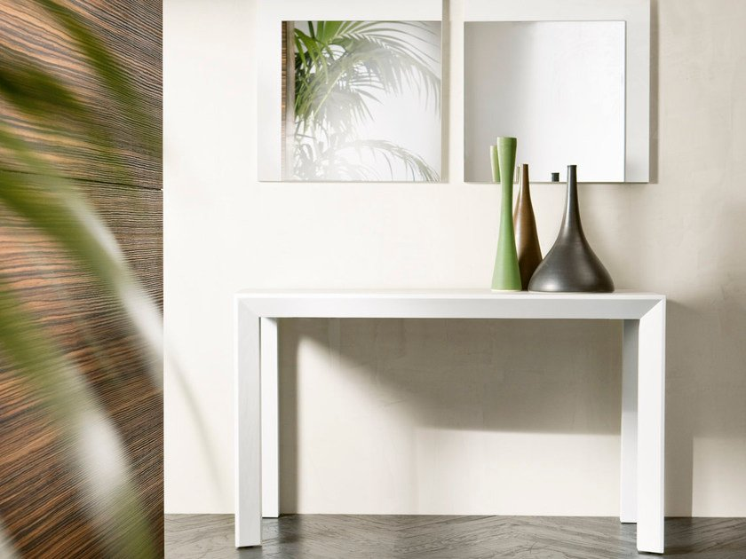 Extending solid wood console table EXTRA by Pacini & Cappellini