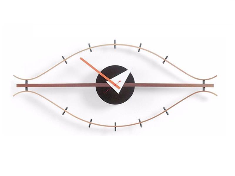 Wall-mounted clock EYE CLOCK by Vitra