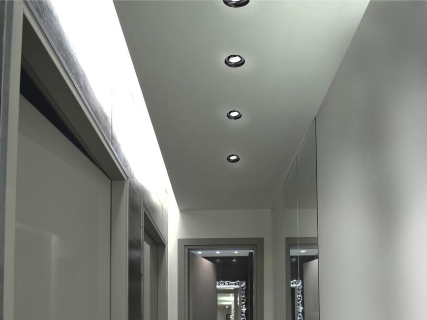Faretto a LED orientabile in alluminio da incasso EYE by GLIP by S.I.L.E