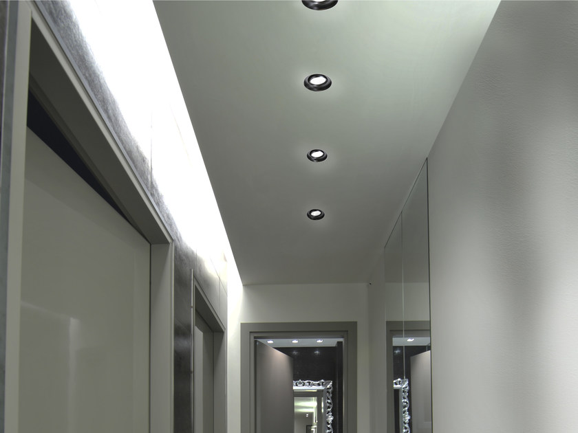 LED adjustable recessed aluminium spotlight EYE by GLIP by S.I.L.E
