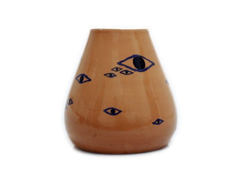 Ceramic vase EYES II by Kiasmo
