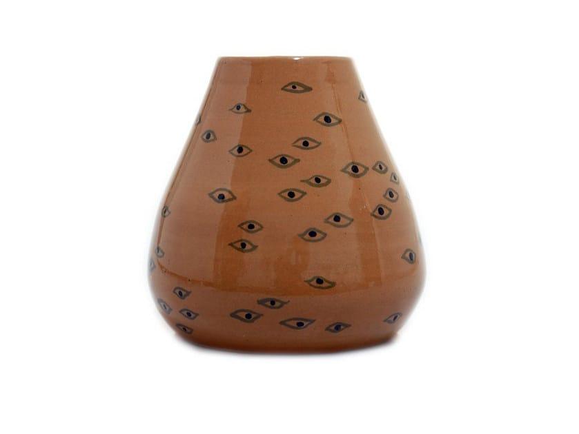 Ceramic vase EYES V by Kiasmo