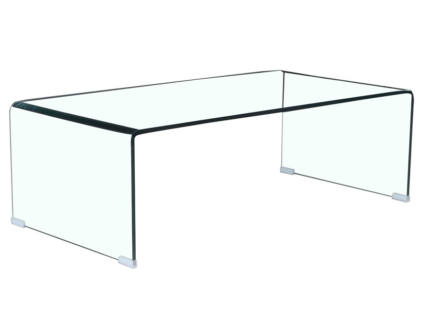 Rectangular tempered glass coffee table F-006K | Coffee table by Kailide