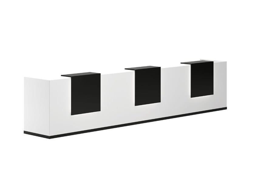 Modular Office reception desk HUGO by Archiutti