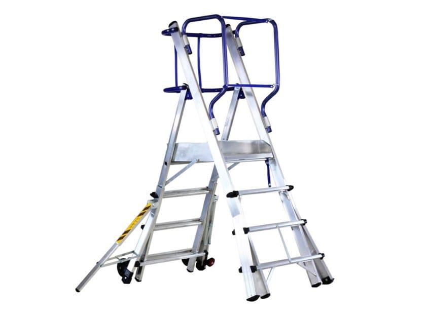 Heavy duty ladder TELEFLY by SVELT