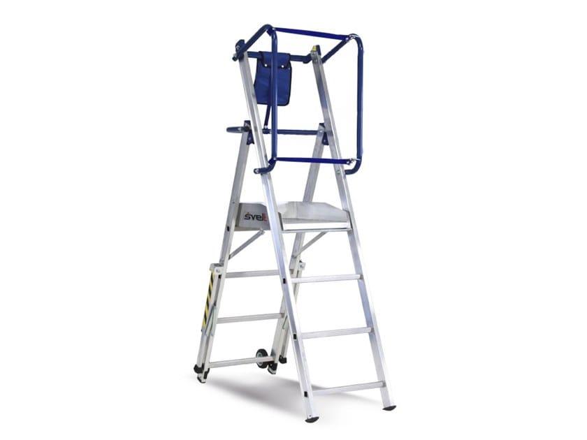 Heavy duty ladder FLY LIGHT by SVELT
