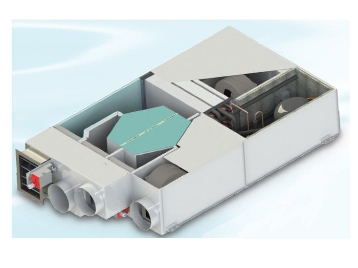 Mechanical forced ventilation system F-VMC-RDC by FRAL