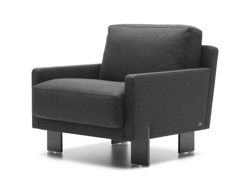 Fabric armchair with armrests DS-77 | Fabric armchair by de Sede