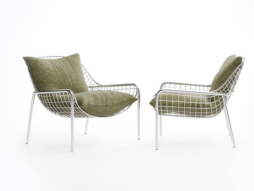 Fabric armchair LAVE | Fabric armchair by Natuzzi