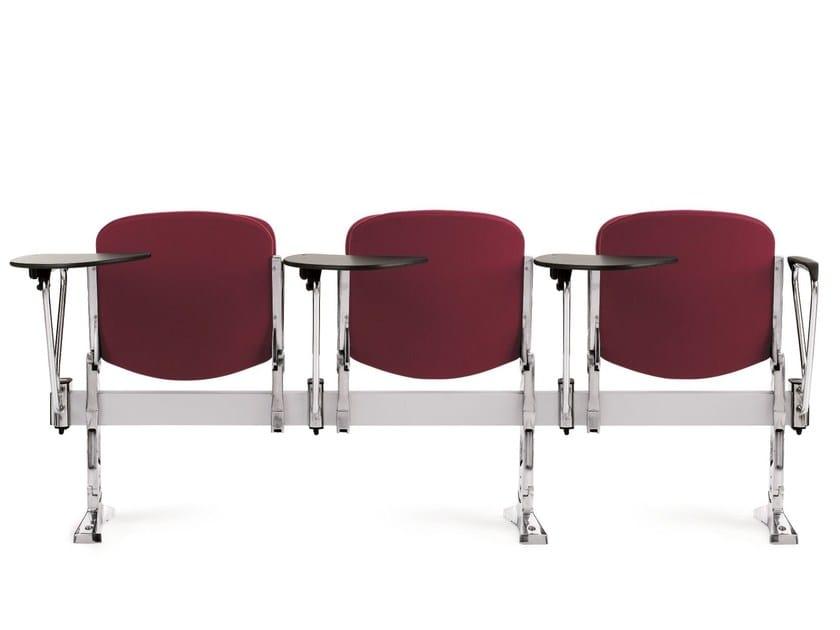 Seduta su barra in tessuto con ribaltina con sedile ribaltabile AGORÀ SBR | Seduta su barra in tessuto by Emmegi