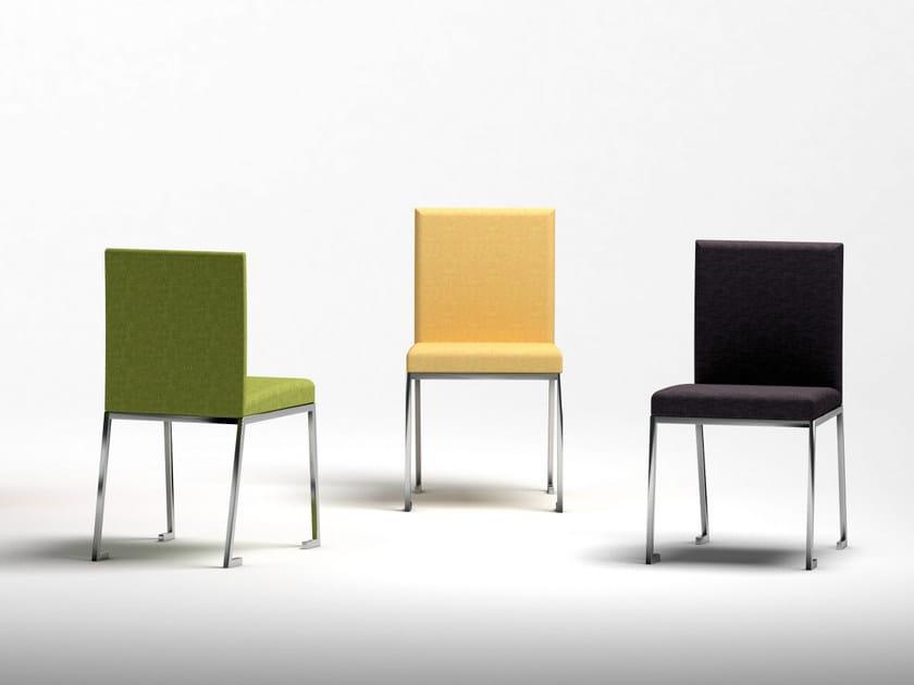 Berliner sedia in tessuto collezione berliner by altinox design