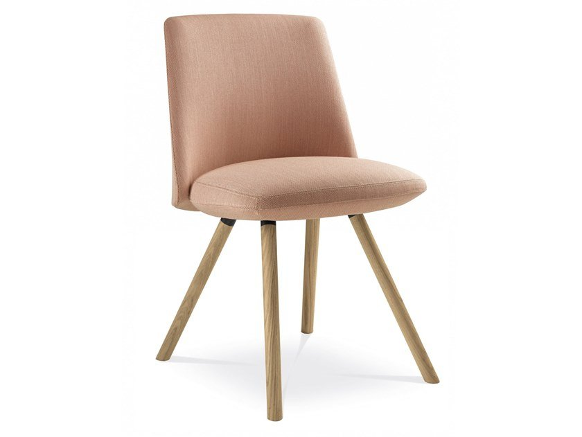 Upholstered fabric chair MELODY DESIGN | Fabric chair by LD Seating
