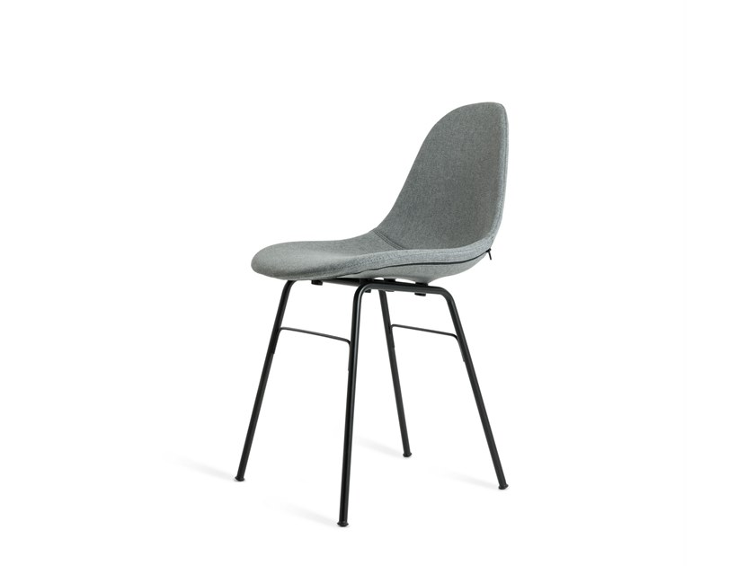 Upholstered fabric chair TA | Upholstered chair by TOOU