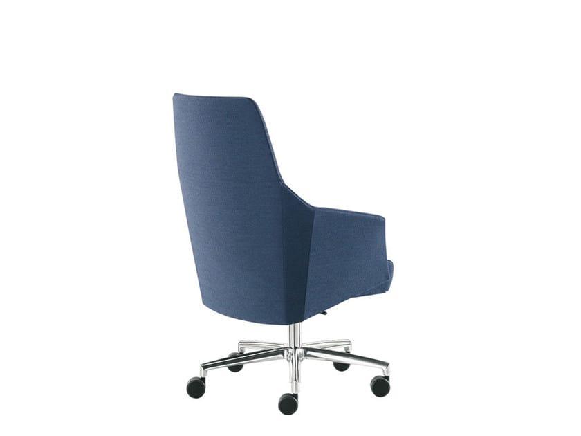 Fabric executive chair DAMA STRIP | Fabric executive chair by Sesta