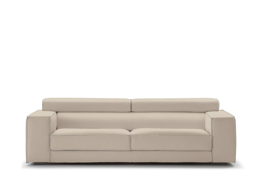 Recliner fabric sofa with removable cover VILNIUS | Fabric sofa by Gobbo Salotti