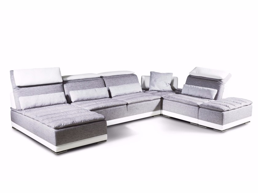 Modular fabric sofa CALIFORNIA | Fabric sofa by Nieri