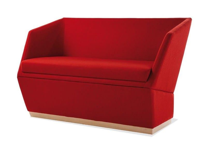 Fabric restaurant booth PALOMA | Fabric small sofa by Sedex