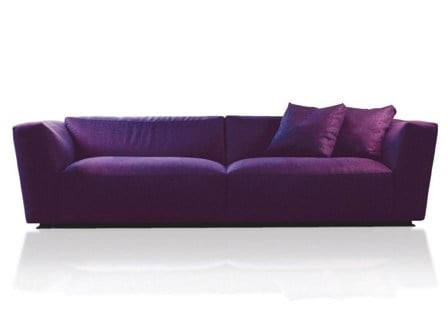 Sectional fabric sofa with removable cover ELLIOT | Fabric sofa by Verzelloni