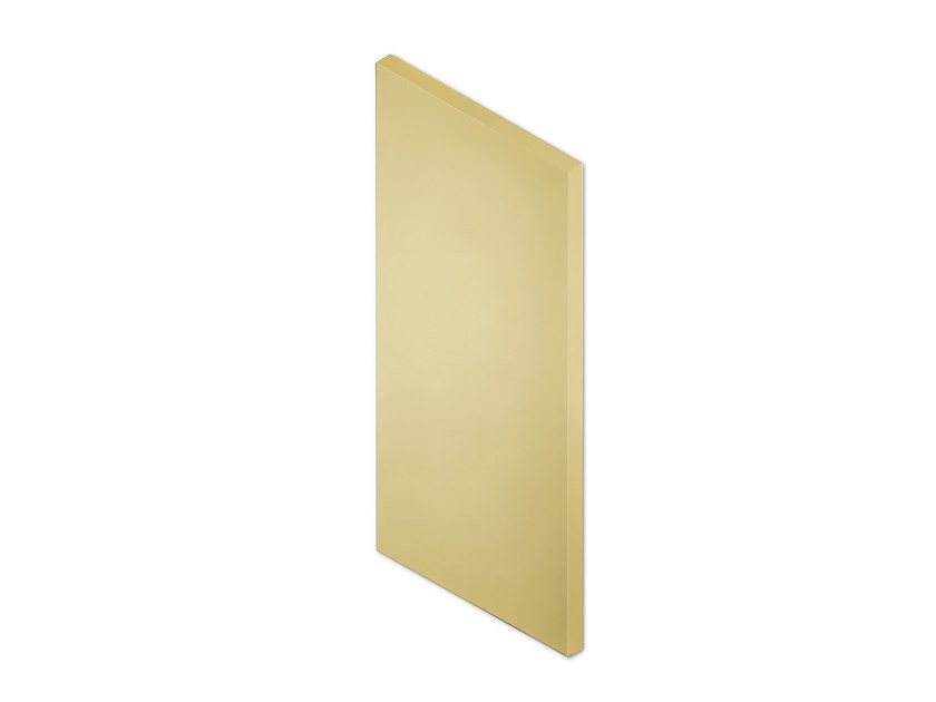 Wall-mounted mirror FACETT (GOLD) by Puik