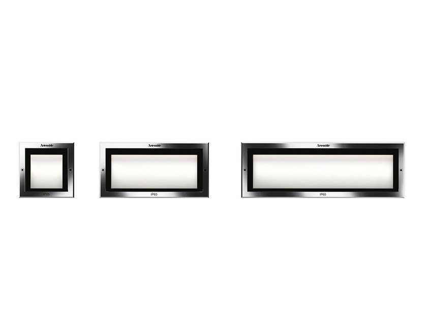 LED wall-mounted technopolymer steplight FACI by Artemide