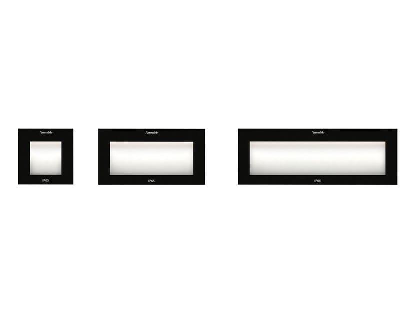 Segnapasso a LED a parete in tecnopolimero FACI VETRO by Artemide