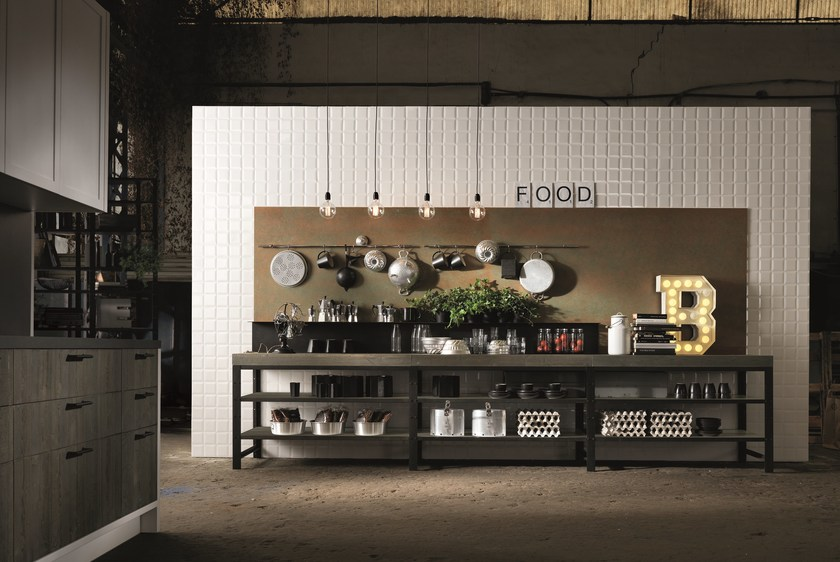 FACTORY | Kitchen with island Factory Collection By Aster Cucine ...