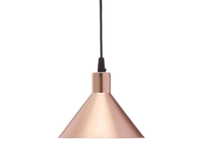 LED handmade adjustable metal pendant lamp FACTORY S1 by Luz Difusión