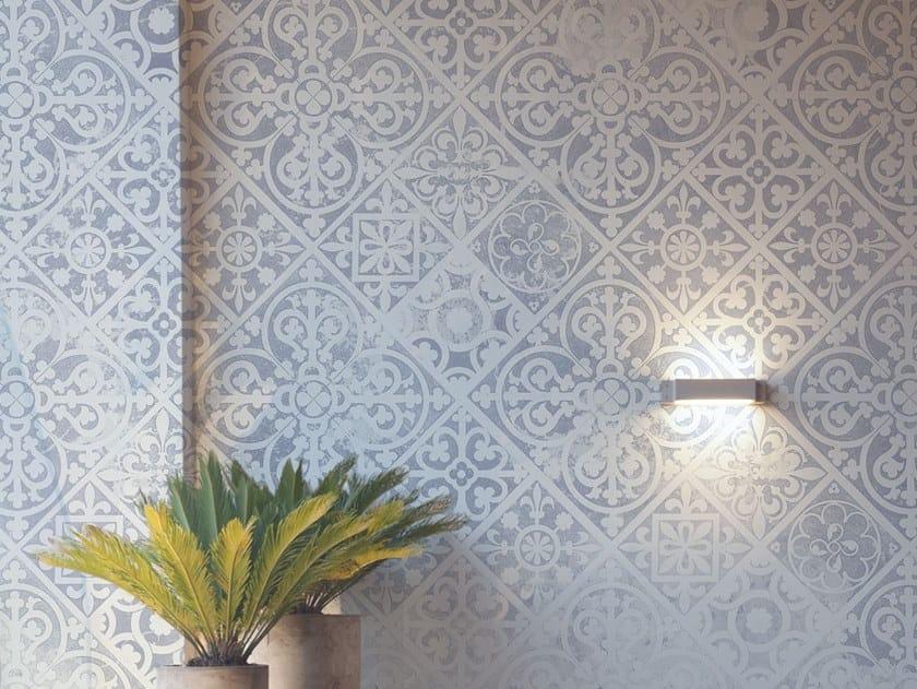 Fire retardant Digital printing wallpaper FADE by NANNI GIANCARLO & C.