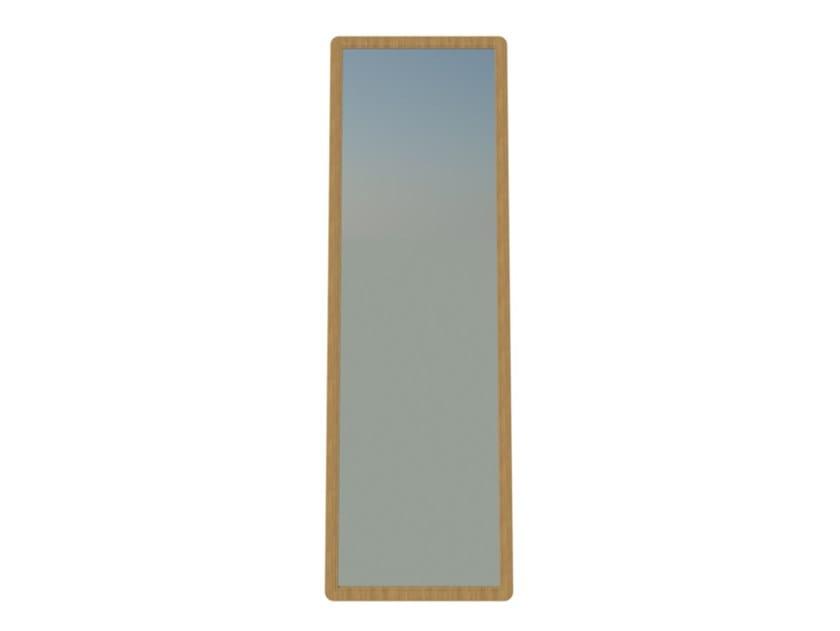 Specchio rettangolare con cornice FAI   Specchio rovere M01 by 2K1M