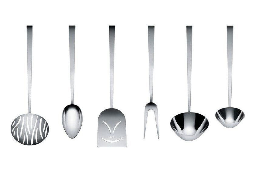 Kitchen cutlery set FAITOO by Alessi