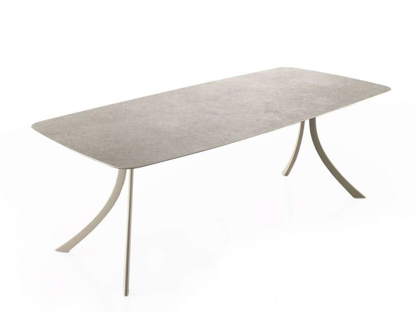 Rectangular garden table FALCATA | Rectangular table by EXPORMIM