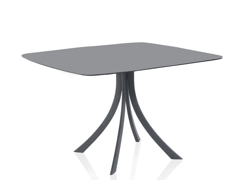 Square garden table FALCATA | Square table by EXPORMIM