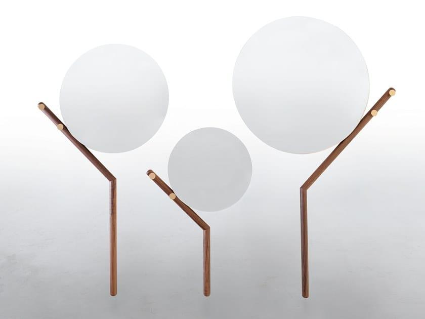 Wall-mounted round mirror FAMILY by Tonin Casa