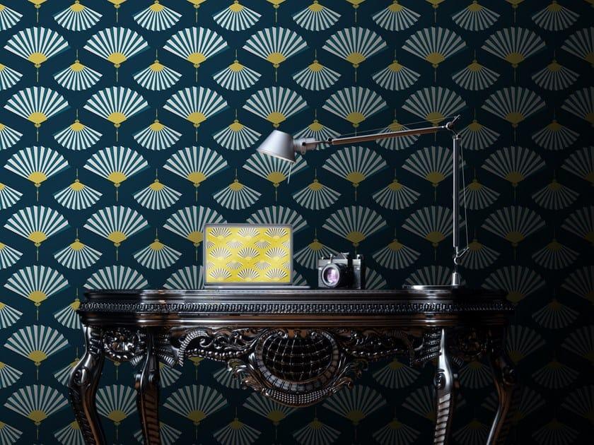 Motif washable vinyl wallpaper FAN by Baboon