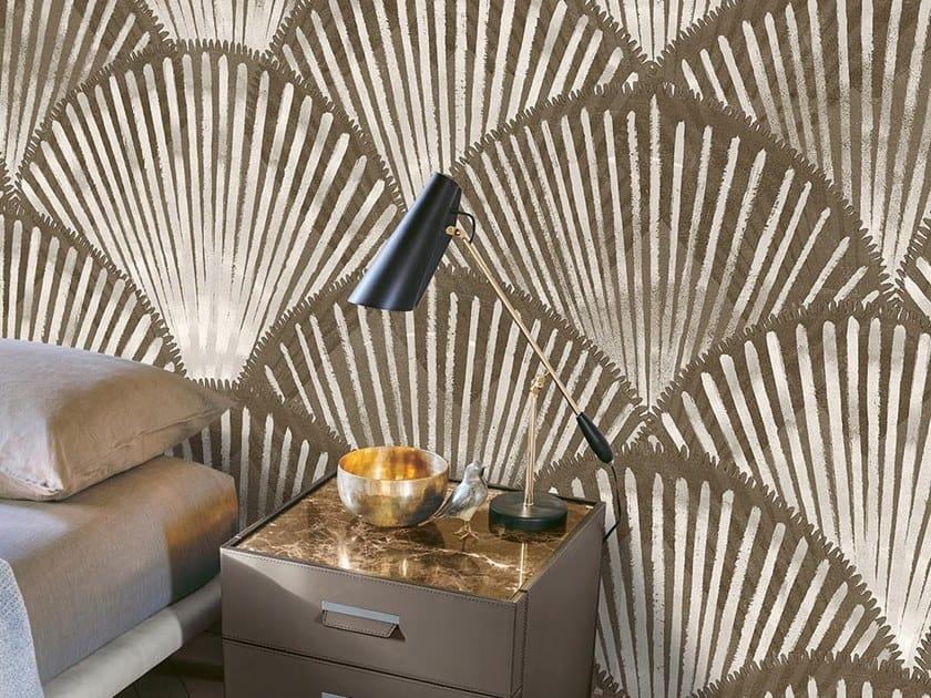 Oriental wallpaper, PVC free, eco, washable FAN by Wallpepper
