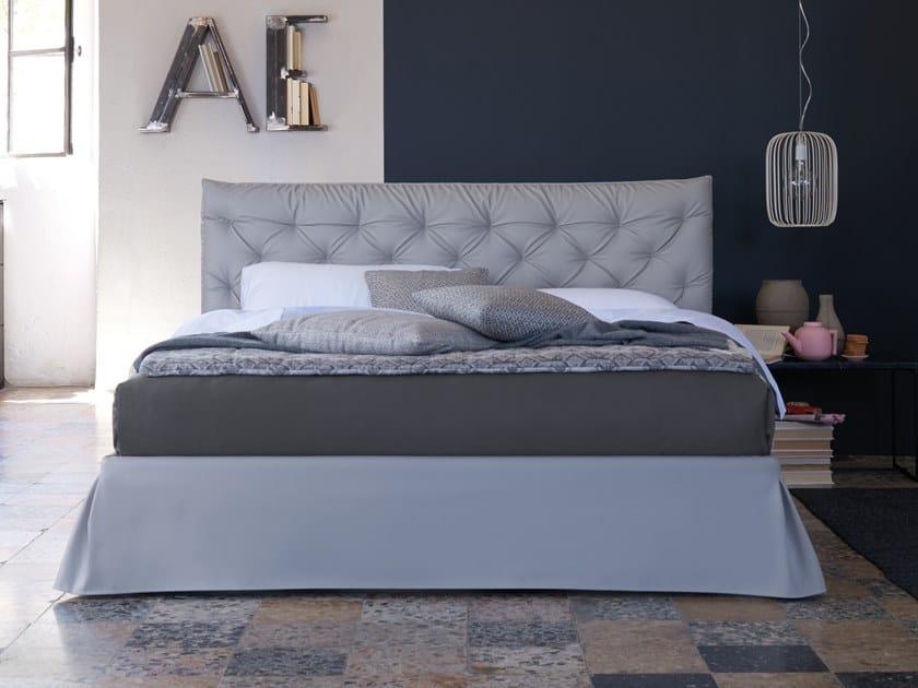 Upholstered double bed FANKER by Dorelan
