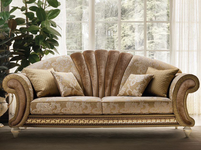 3 seater fabric sofa bed FANTASIA | 3 seater sofa by Arredoclassic