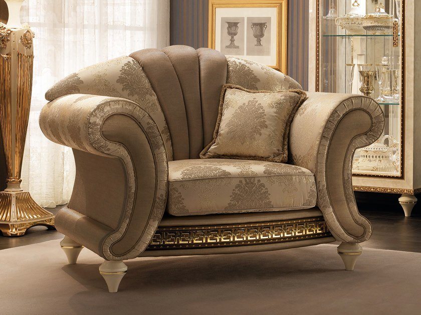 Armchair with armrests FANTASIA | Armchair by Arredoclassic