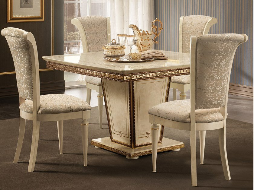 Square living room table FANTASIA | Square table by Arredoclassic