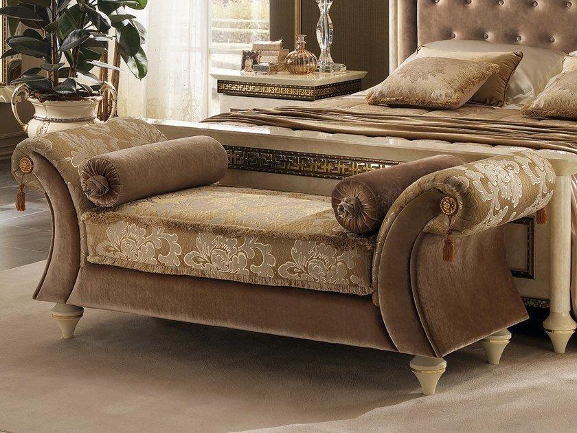 Upholstered fabric bench FANTASIA | Upholstered bench by Arredoclassic